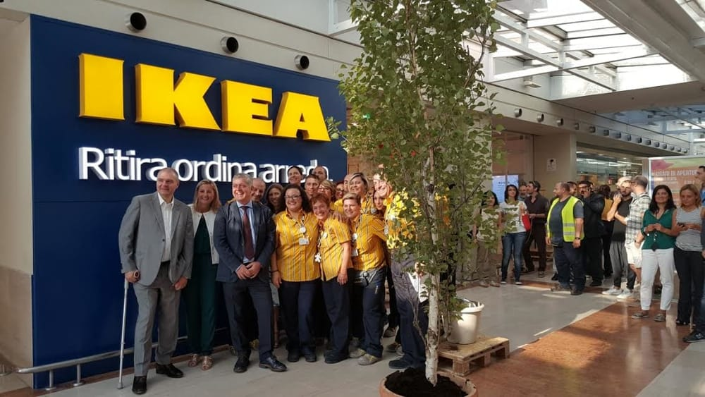 Ikea Arriva Al Collatino Inaugurato Il Pick Up Order Point Dentro