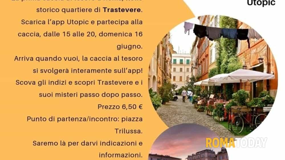 39b34d8efa9b Scoprire Roma è un gioco: prima Caccia al Tesoro Utopic nella Capitale | 16  giugno 2019
