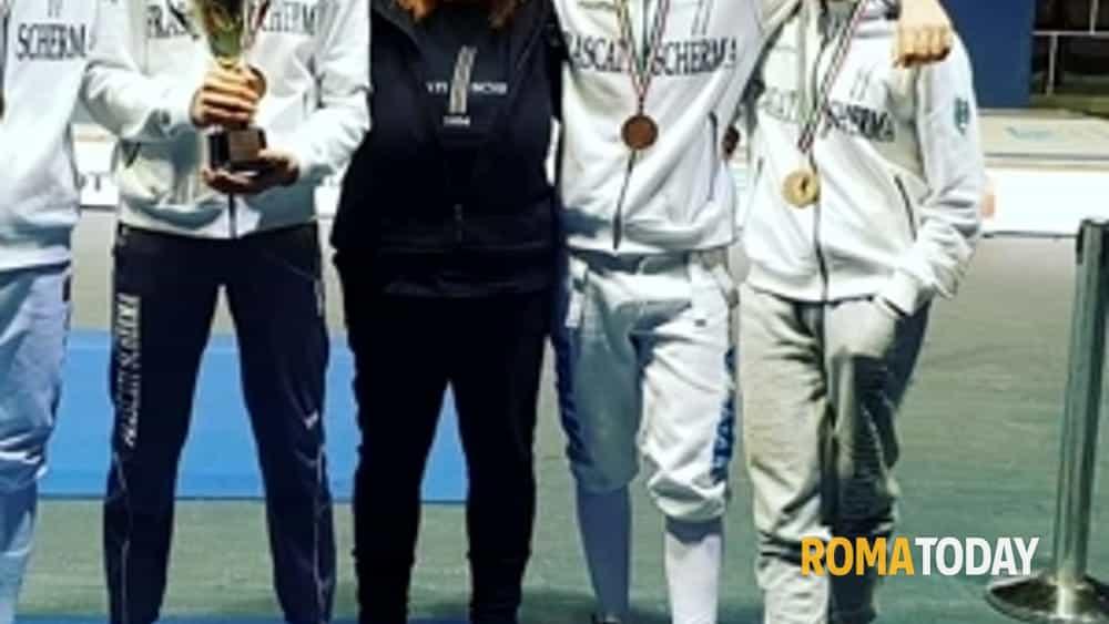 Frascati Scherma: fiorettisti terzi nel circuito U17 a Budapest - RomaToday
