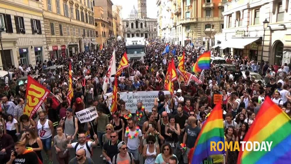 Gay Pride Roma 2019 10 Giugno