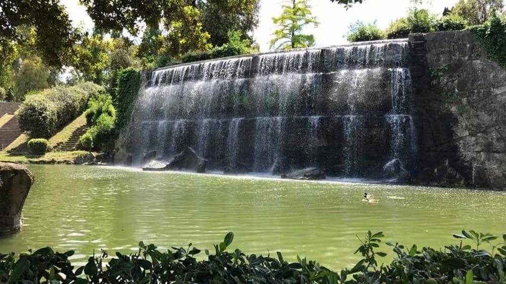 Laghetto dell eur dopo 56 anni apre al pubblico il for Cascate in giardino