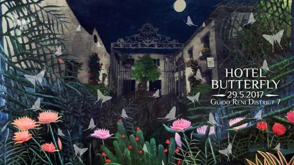hotel butterfly apre il giardino segreto di roma
