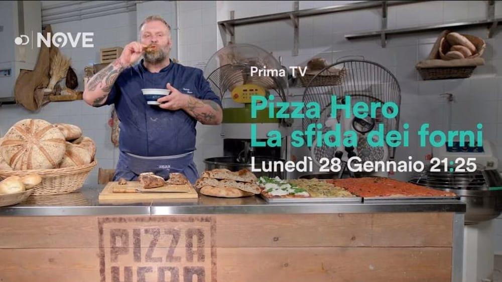 """""""Pizza Hero"""", Gabriele Bonci sbarca in tv: ?Pane e pizza protagonisti in prima serata?"""