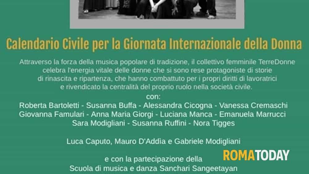 Giovanna D Anna Calendario.Terredonne In Concerto Per Calendario Civile 6 Marzo 2019