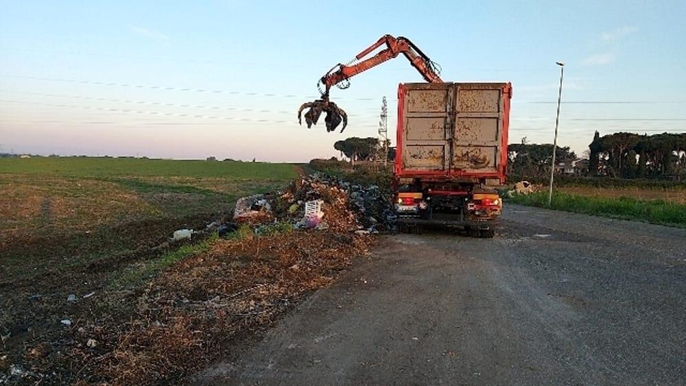Torraccia, rimosse 80 tonnellate di rifiuti abbandonati illegalmente