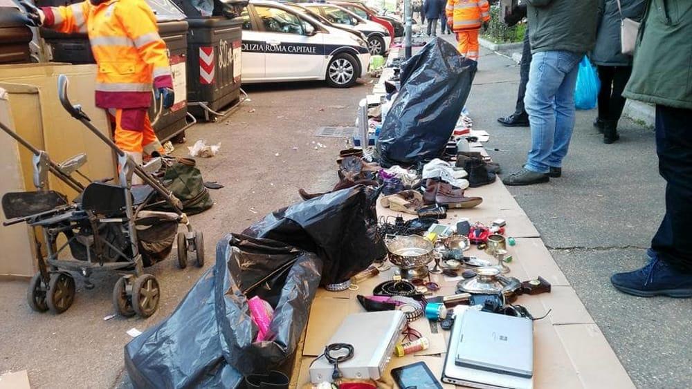 Valmelaina ancora blitz al mercatino illegale di via conti - Mercatino di campagnano ...