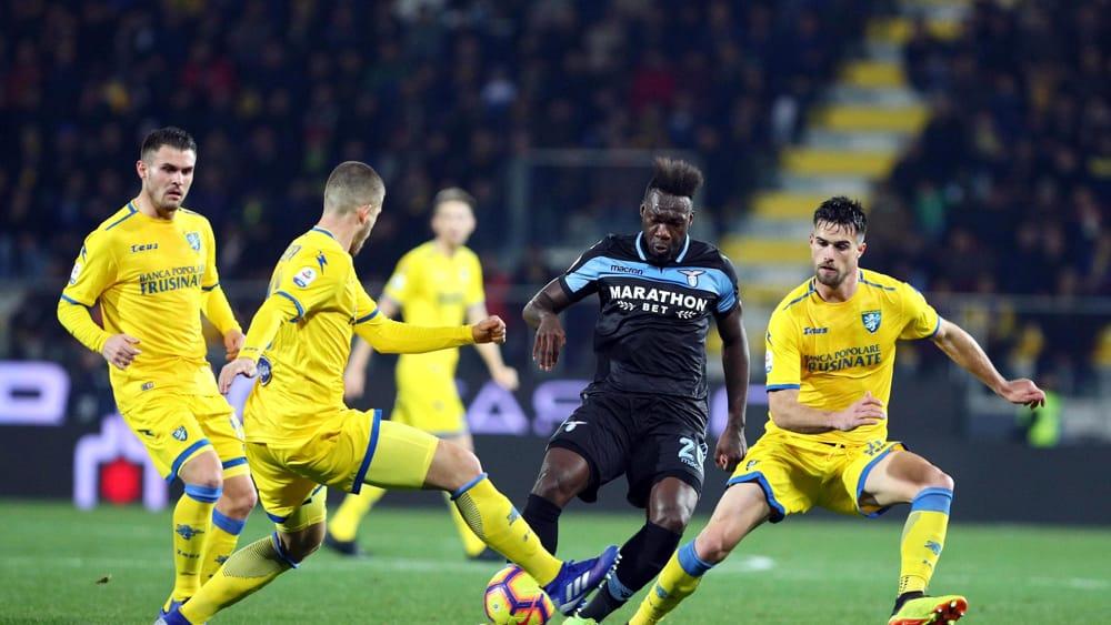 Frosinone-Lazio 0-1   La zampata di Caicedo basta per agguantare la Roma in classifica