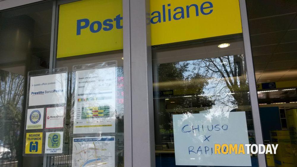 Ufficio Postale Via Monte Rosa Novara : Tor di quinto: rapina allufficio postale