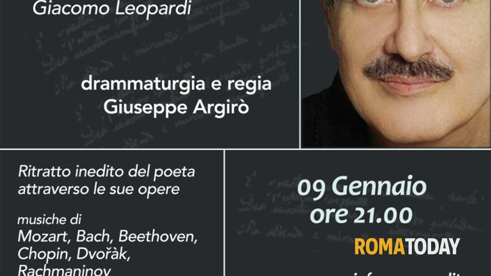 """L'infinito Giacomo - vizi e virtù di Giacomo Leopardi"""