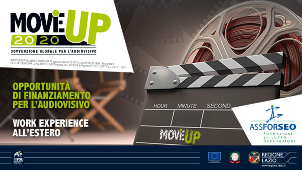 MOViE UP2020: il voucher per lavorare all'estero nell'audiovisivo
