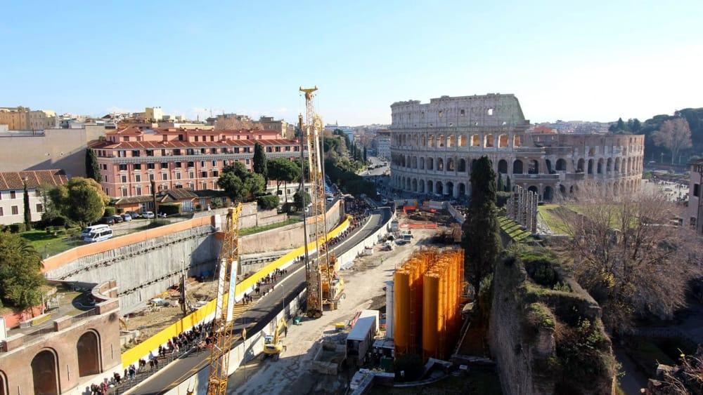Metro c obiettivo colosseo nel 2021 poi la tratta diventa for Programma per costruire case