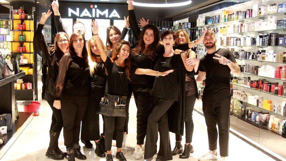 In via Candia l'inaugurazione del nuovo punto vendita Naima