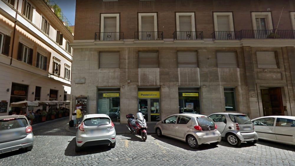 Ufficio Postale Via Monte Rosa Novara : Incendio via della scrofa: fiamme dallufficio sopra le poste