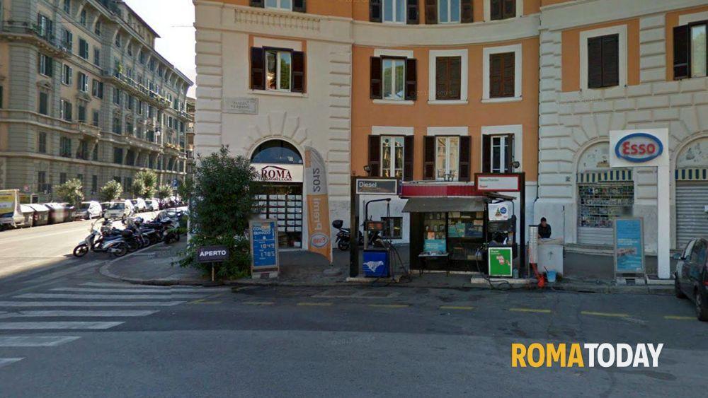 Salario rapina al benzianio esso di piazza verbano for Piazza balduina