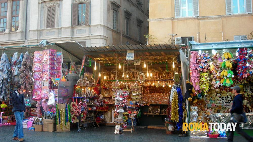Mercatino di natale a piazza navona foto di cecchini romatoday - Mercatino di natale piazza mazzini roma ...