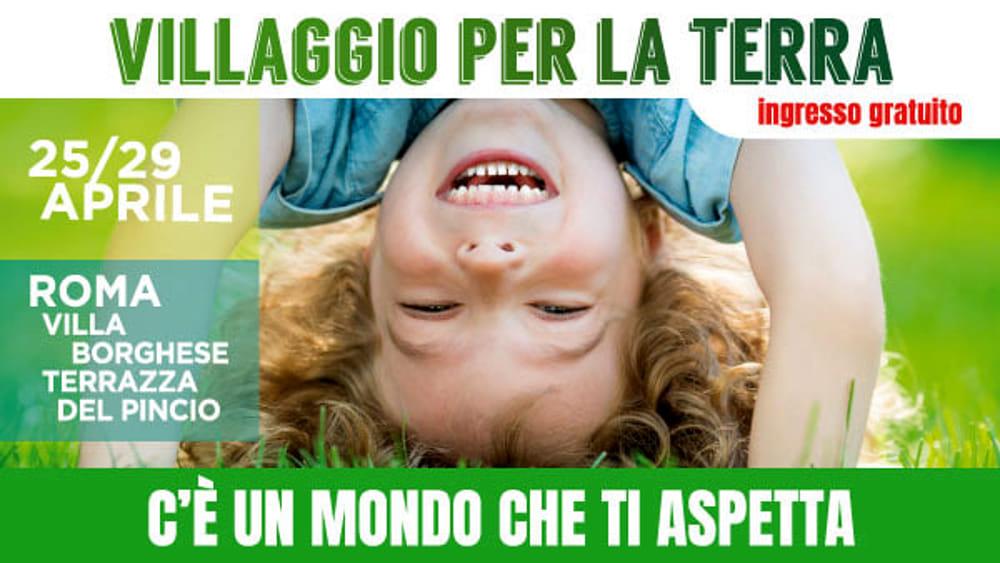 Villaggio Per La Terra A Villa Borghese 25 29 Aprile 2019