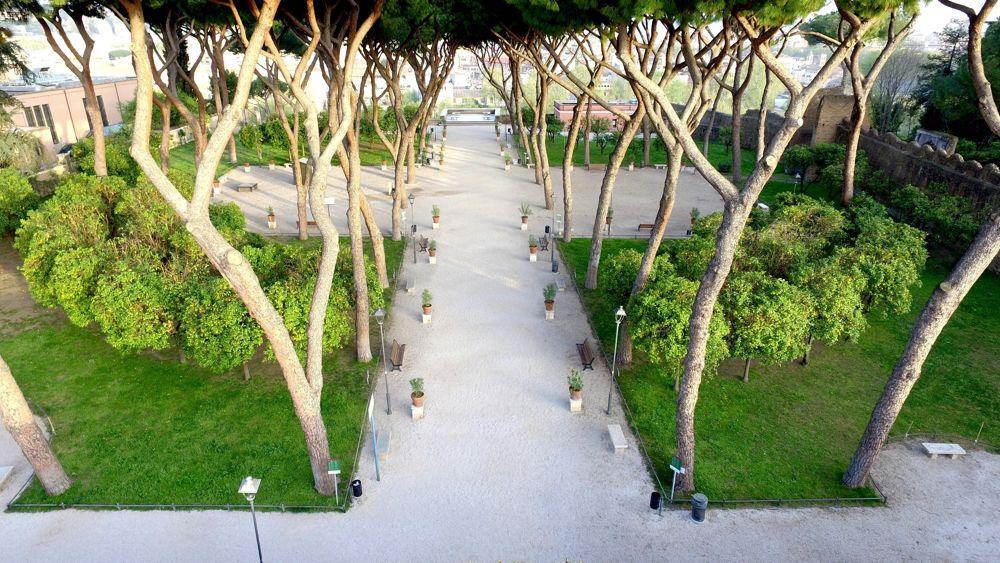 Giardino degli aranci il belvedere torna a risplendere grazie ai mecenati - Giardino degli aranci frattamaggiore ...