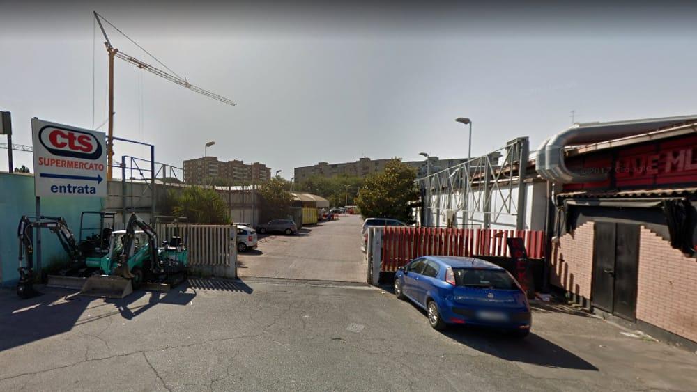 Ponte Mammolo: rapina al supermercato Cts di via degli Alberini