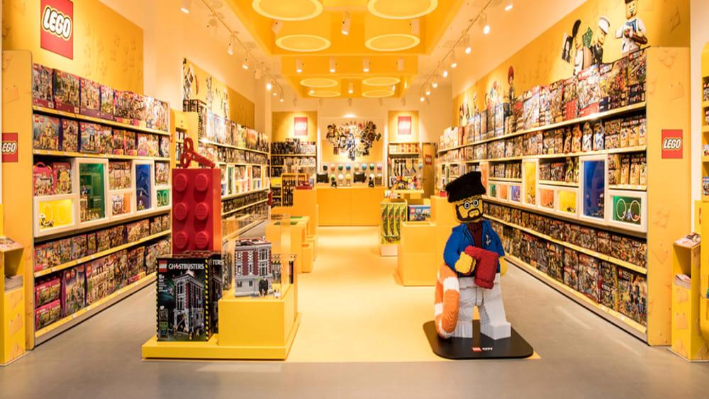 Lego Store A Roma Al Centro Commerciale Porta Di Roma