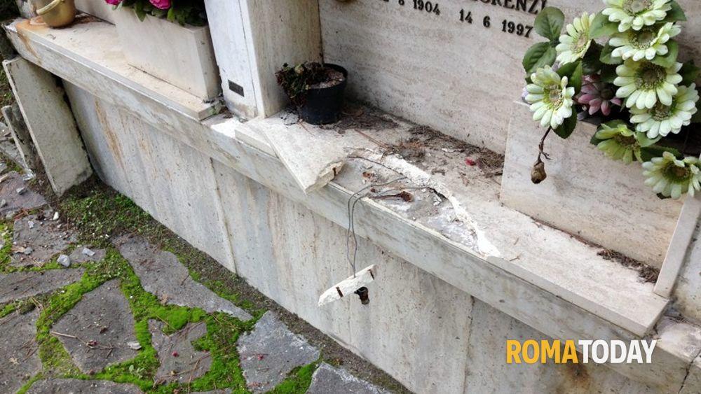 Cimitero prima porta furti di rame da tombe e fornetti - Cimitero flaminio prima porta ...