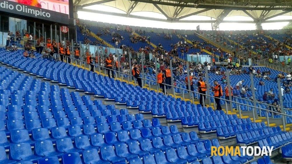 Curve divise roma e lazio non parlano il coni decide for V dipartimento ministero interno