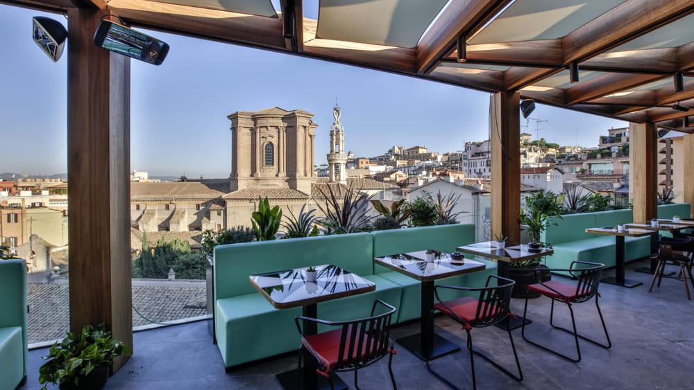 I ristoranti di Rinascente in via del Tritone