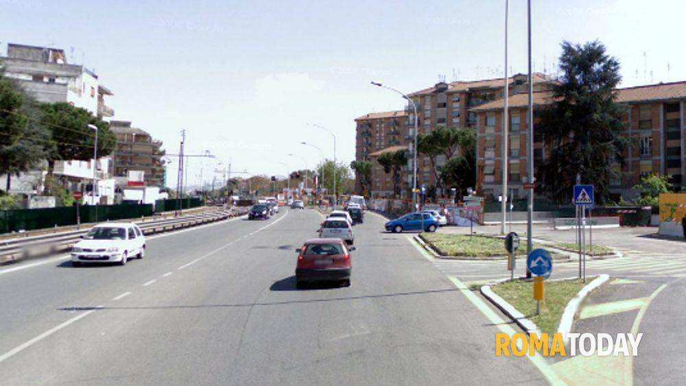 Riapertura di via casilina completata stazione for Paoletti arredamenti via casilina