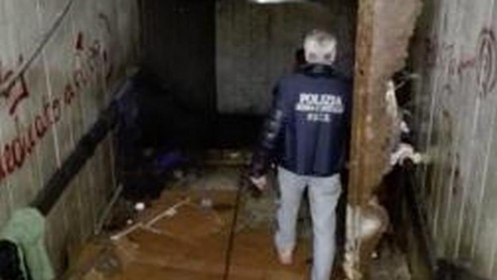 Clochard tra siringhe e bombole del gas smantellata la for Corso di arredatore d interni roma