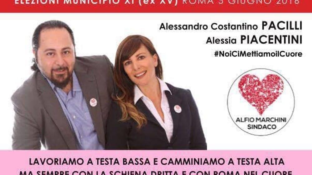 Alessandro Costantino Pacilli, candidato per la Lista ...