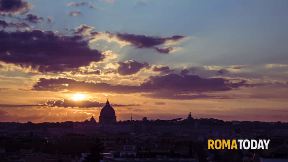 Tramonto Dalla Terrazza Del Pincio Segnalazione A Roma