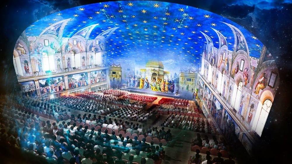 Giudizio universale spettacolo a roma biglietti for Decorazione quattrocentesca della cappella sistina