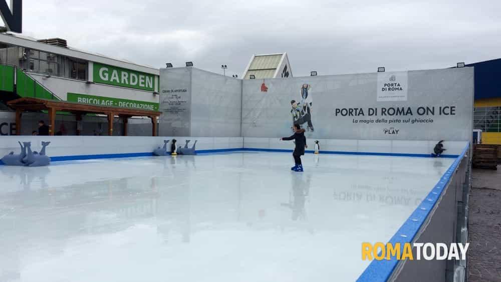 Porta Di Roma On Ice La Pista Del Ghiaccio Orari E Prezzi