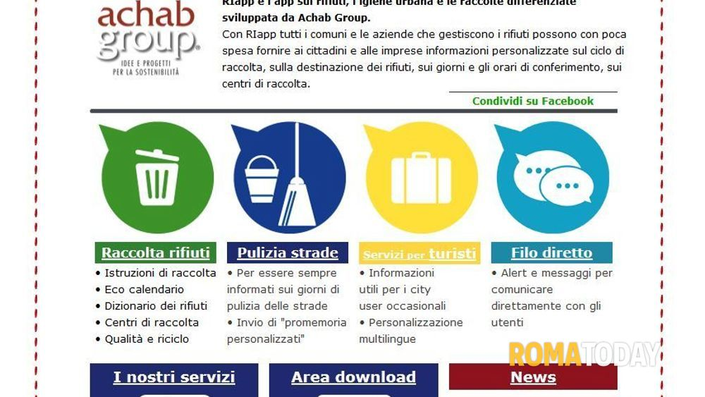 Calendario Raccolta Differenziata Cerveteri.Albano Nel 2015 L App Per La Raccolta Differenziata In