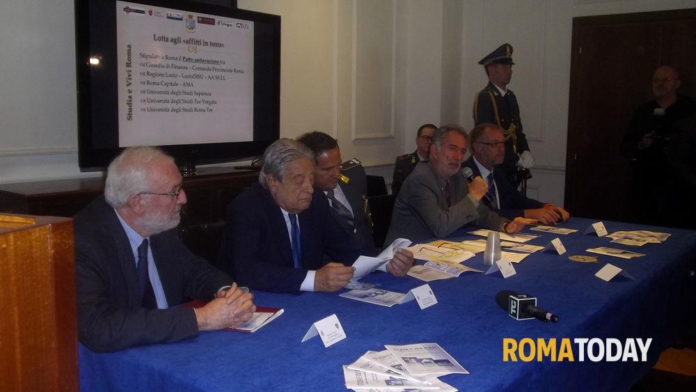 Affitti in nero a roma patto antievasione della guardia for Affitti mezzocammino roma
