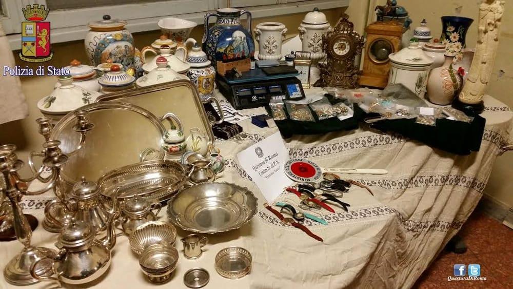 Torpignattara ecco come recuperare gli oggetti rubati for Oggetti sacri roma