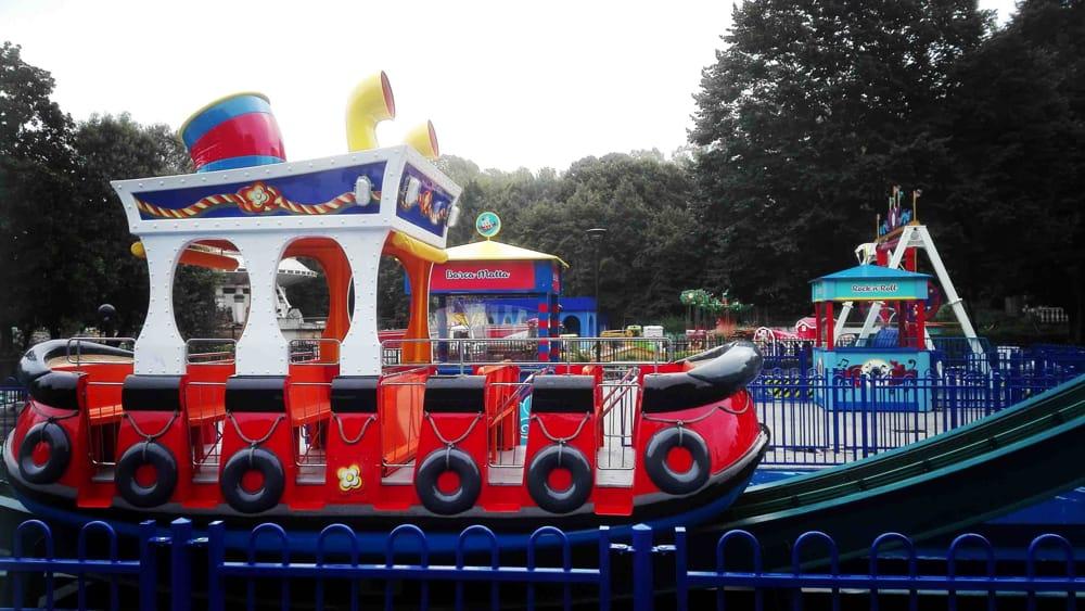 Luneur park data apertura costo biglietti e le nuove giostre for Giostre luna park usate